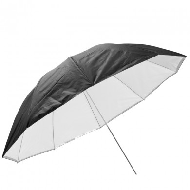 Reflective umbrella FreePower 100cm silver with internal diffuser
