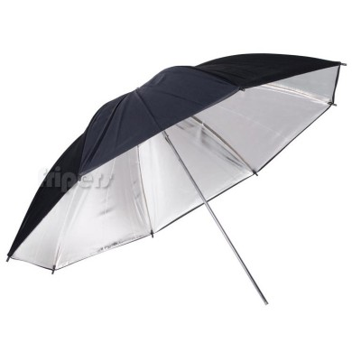Reflective umbrella FreePower 110cm silver