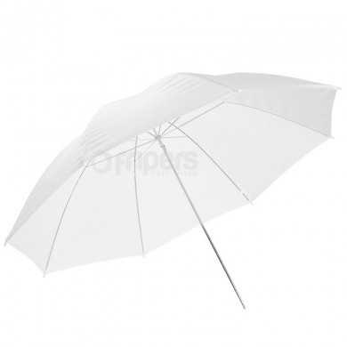 Diffusive umbrella FreePower 100cm white