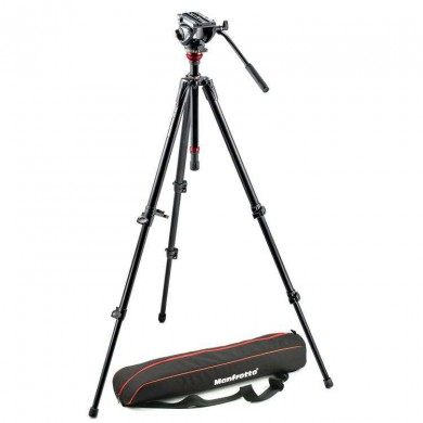 Video kit Manfrotto MVH500AH,755XBK tripod 755XBK + head MVH500AH