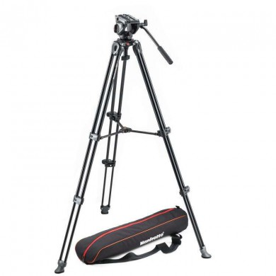 Video tripod Manfrotto MVK500AM with head MVH500A