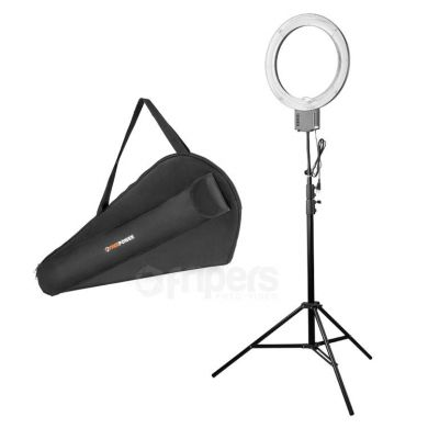 Ring lamp kit Freepower 65W with light stand and cover
