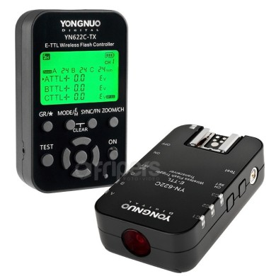 Wireless radio trigger YongNuo YN-622C KIT for Canon