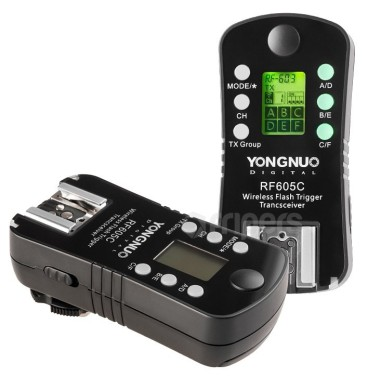 Wireless radio trigger YongNuo RF605C for Canon
