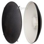 Beauty dish Jinbei 70cm bowens, with grid and diffuser