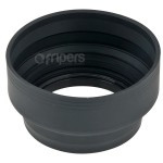 Collapsible Silicone Lens Hood 72mm 3in1 FreePower
