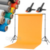Home Mini Atelier kit + 4 1,6x5m backgrounds clips FreePower