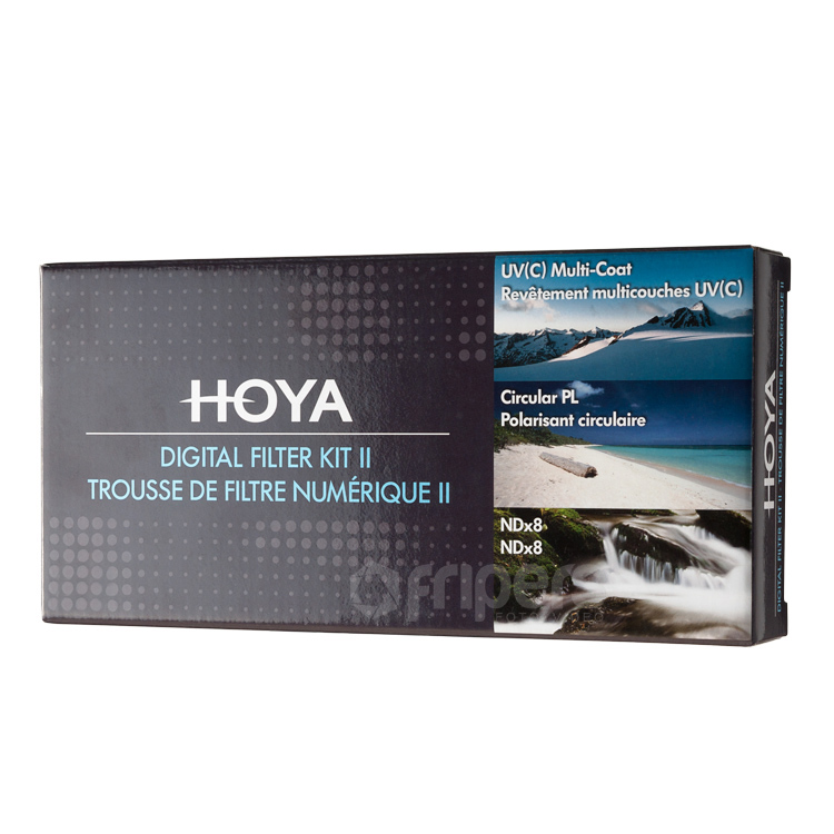 HOYA Digital Filter KIT HOYA UV (C), CIR-PL, ND8 58mm