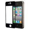 LCD cover for iPhone 4, 4s black glass glue free montage FreePower