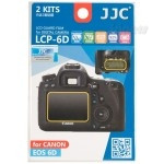 Polycarbonate LCD cover for Canon EOS 6D JJC
