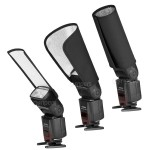 Portaflex SET Aurora 3 camera flash reflectors