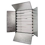 Light panel 8x55W FreePower FL558 with barn doors