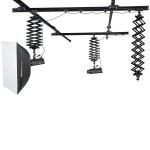 Studio Rail System with 3 pantographs FreePower