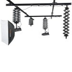Studio Rail System with 4 pantographs FreePower