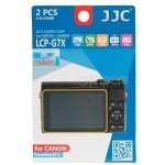 The kit of polycarbonate covers for Canon PowerShot G7 X JJC