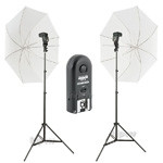 Strobist kit XL 2x Yongnuo 560 III + RF603 (light stands, umbrellas, grips)